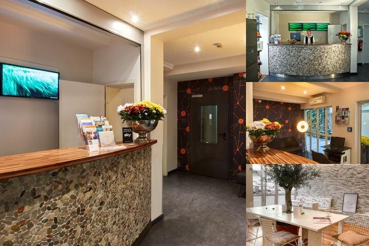 Town Hotel photo collage