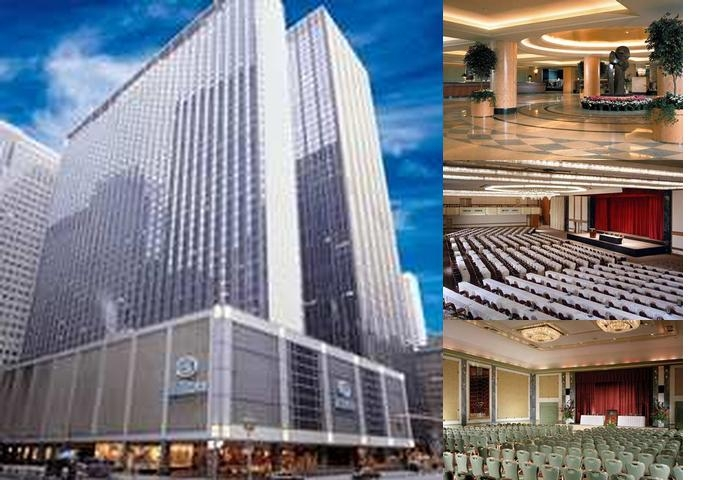 Hilton Club New York photo collage