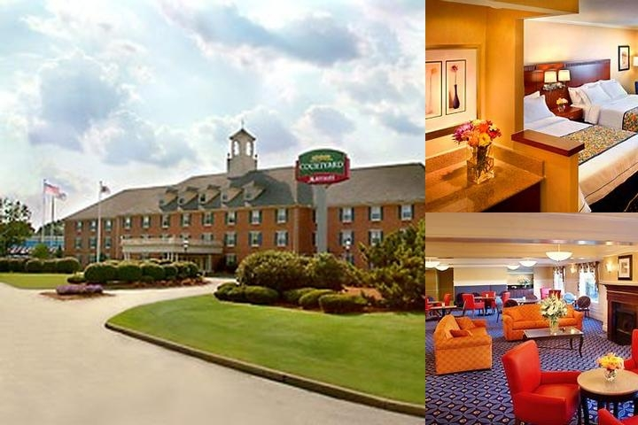 Courtyard by Marriott Andover photo collage