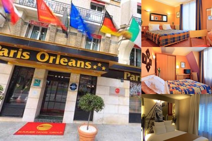 Quality Hotel Paris Orleans photo collage