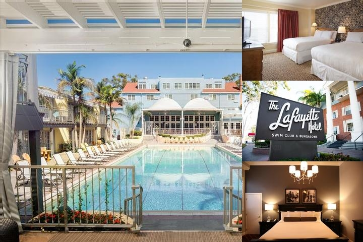 Lafayette Hotel Swim Club & Bungalows photo collage