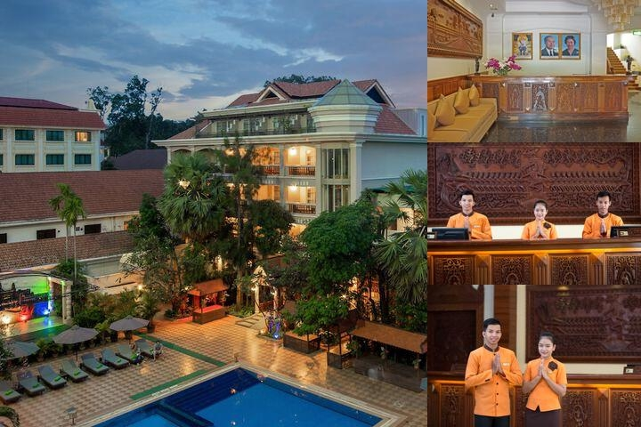 Hotel Somadevi Angkor Premium photo collage