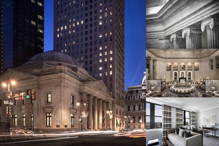 The Ritz Carlton Philadelphia photo collage