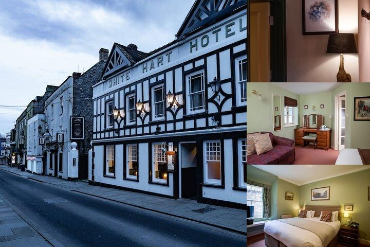 White Hart Hotel photo collage