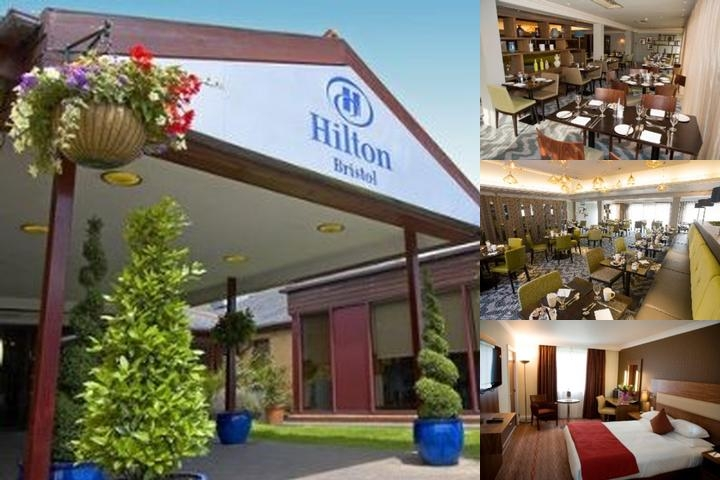 Hilton Bristol photo collage