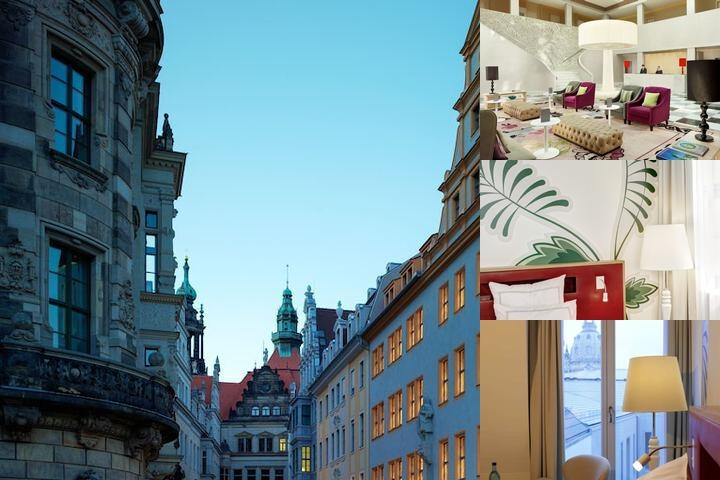 Swissotel Dresden Am Schloss photo collage