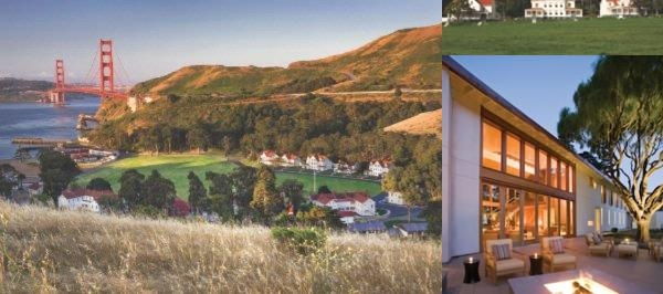 Cavallo Point Lodge photo collage