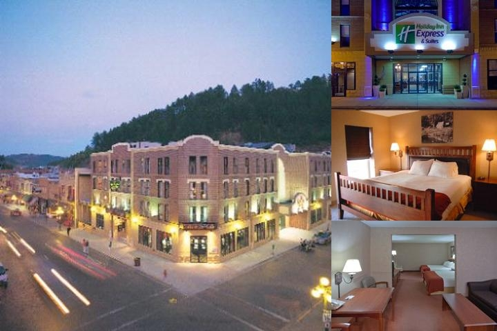 Holiday Inn Express Hotel & Suites Deadwood Gold Dust Casino photo collage
