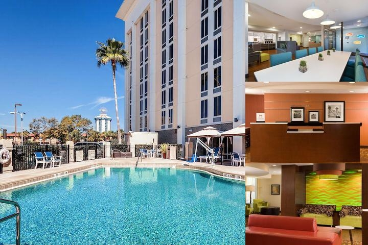 Hampton Inn South of Universal photo collage