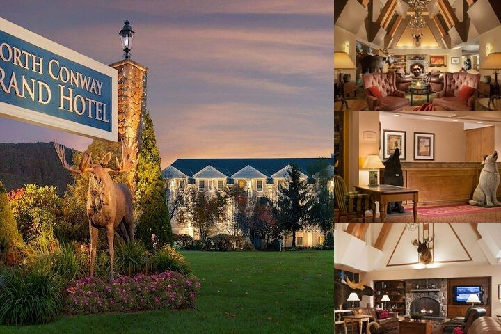 North Conway Grand Hotel photo collage