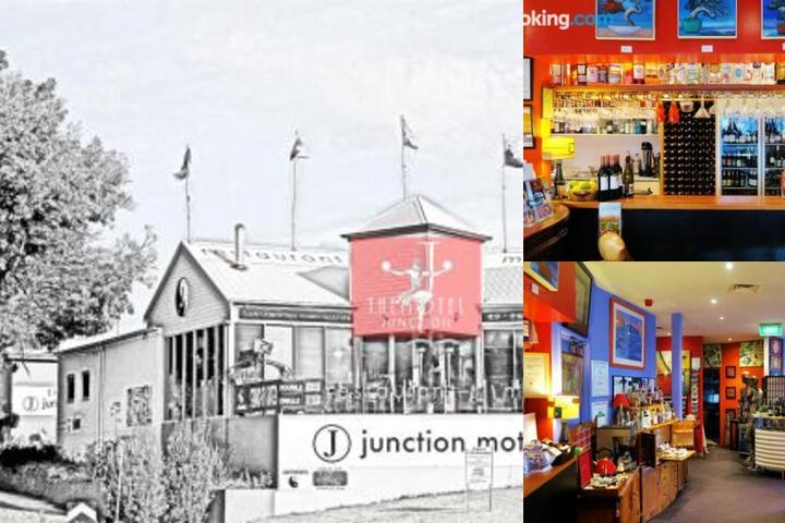 Junction Motel photo collage