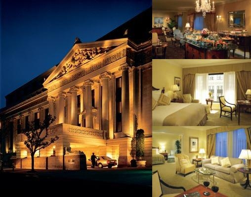The Ritz Carlton San Francisco photo collage