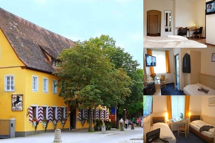 Hotel Rappen Rothenburg Ob Der Tauber photo collage