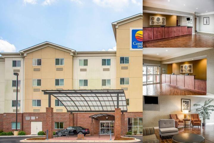 Comfort Inn Huntsville photo collage