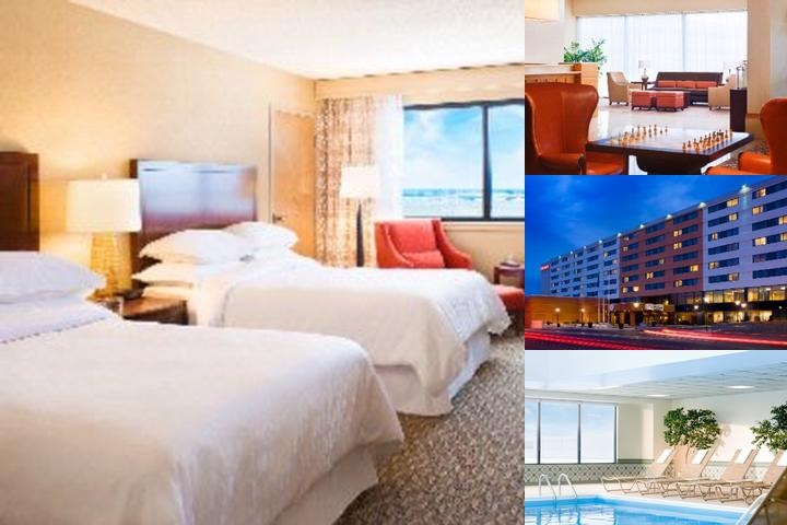 Sheraton Bradley International Airport Hotel photo collage