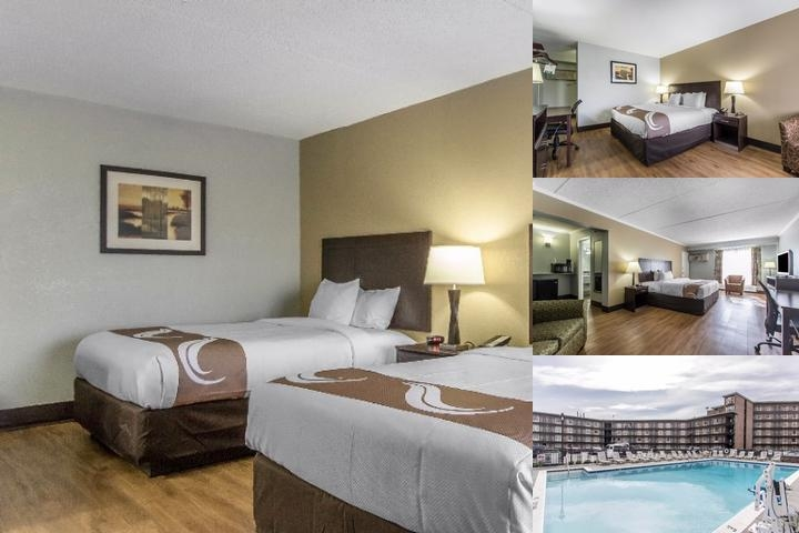 Quality Inn Historic Downtown photo collage