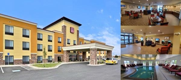 Comfort Suites Helena photo collage