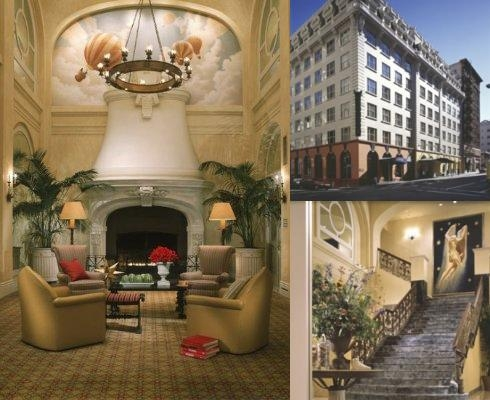 Hotel Monaco San Francisco photo collage