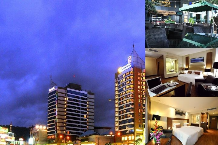 Grand Borneo Hotel photo collage
