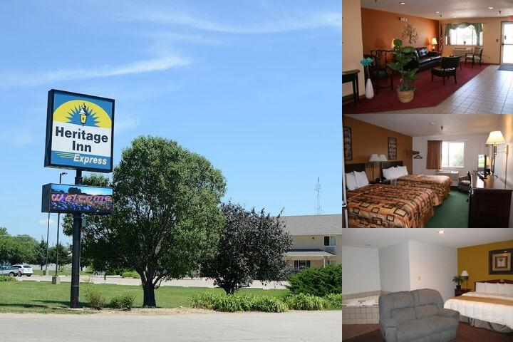 Heritage Inn Express photo collage