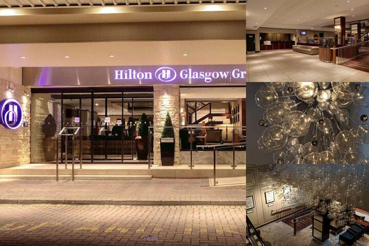 Hilton Glasgow Grosvenor photo collage