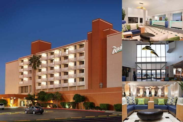 Radisson Beach Hotel photo collage