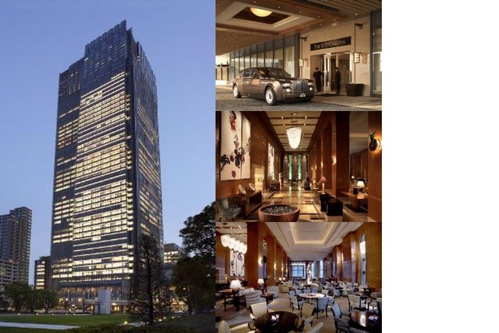 The Ritz Carlton Tokyo photo collage