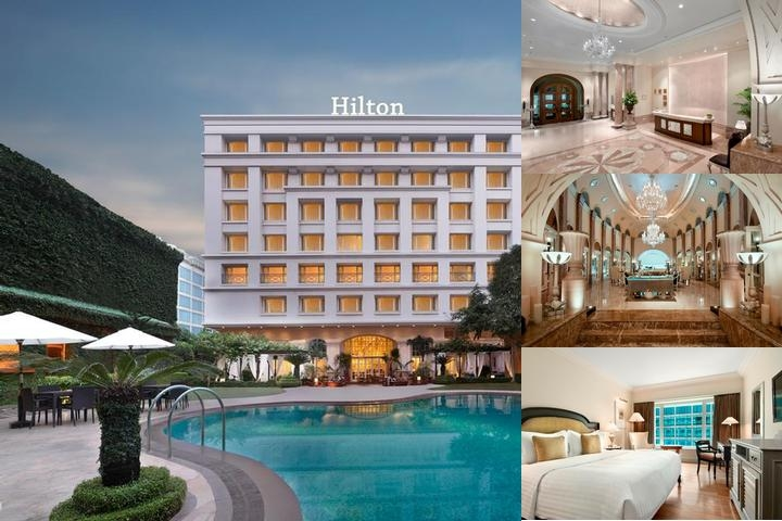 Hilton Mumbai International Airport photo collage