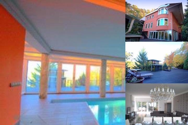 Villa Albert Budapest photo collage
