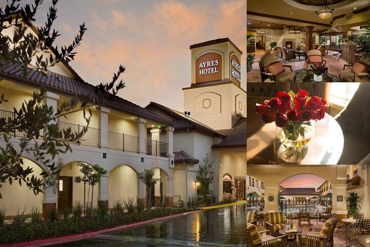 Ayres Hotel Redlands photo collage