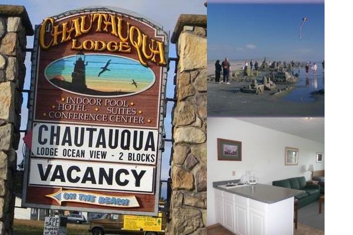 Chautauqua Lodge photo collage