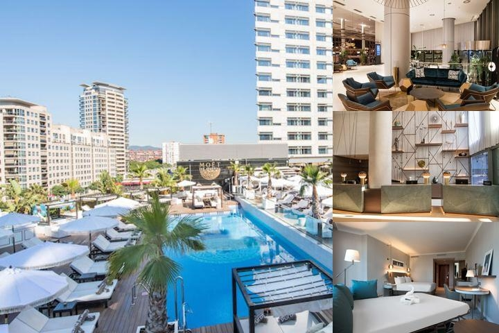 Hilton Diagonal Mar Barcelona photo collage