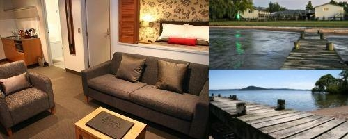 Wai Ora Lakeside Spa Resort photo collage