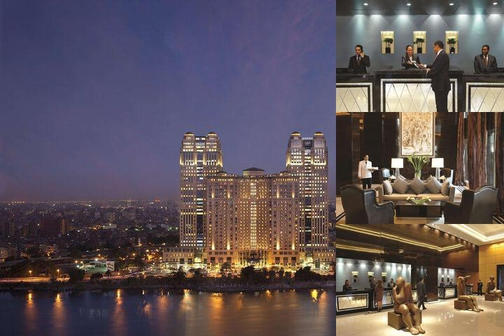 Fairmont Nile City Cairo photo collage
