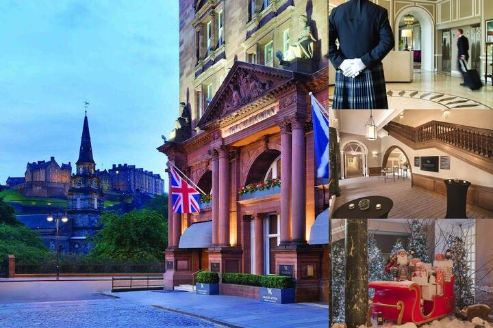 Waldorf Astoria Edinburgh The Caledonian photo collage