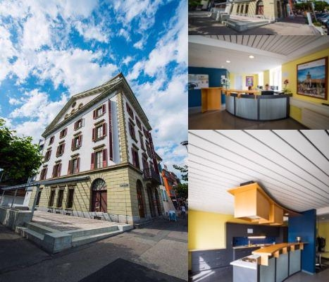 Vevey Hotel & Guesthouse photo collage
