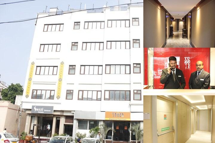 Hotel Swati Deluxe photo collage
