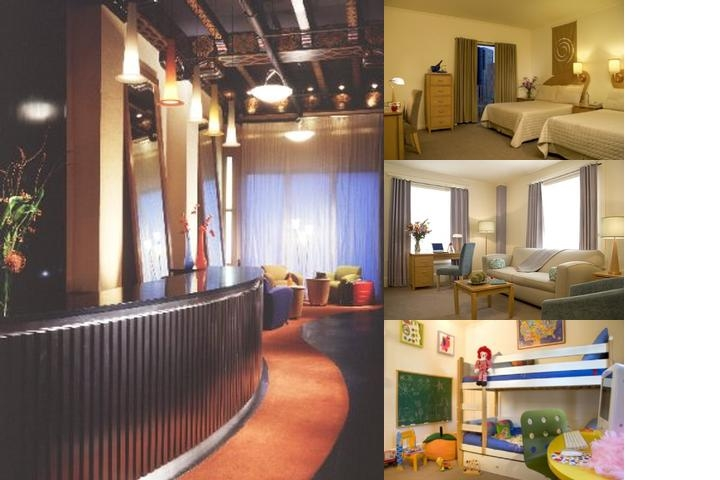 Hotel Metropolis photo collage