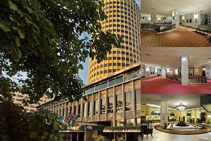 Hilton Nairobi photo collage