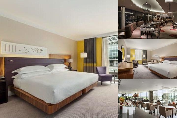 Hilton London Wembley photo collage