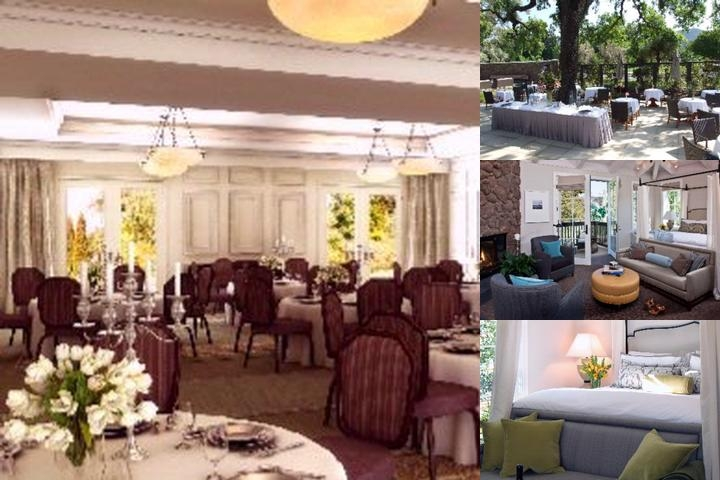 Hotel Yountville photo collage