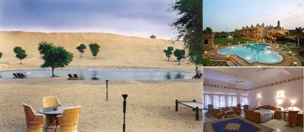 Welcomheritage Khimsar Fort photo collage