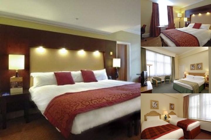 Hilton Nottingham photo collage