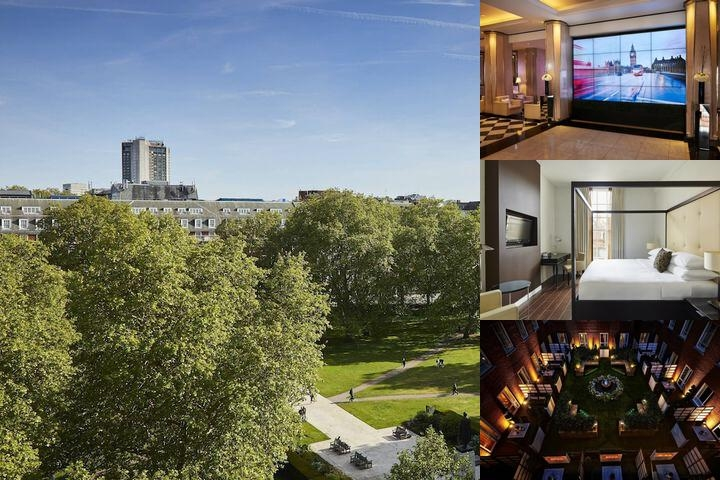 The London Marriott Grosvenor Square Hotel photo collage