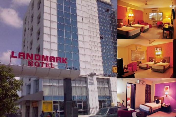 Landmark Hotel photo collage
