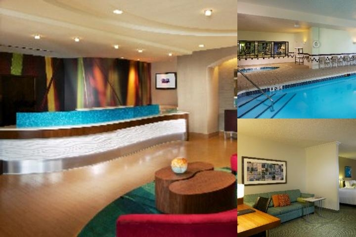 Springhill Suites Newark photo collage