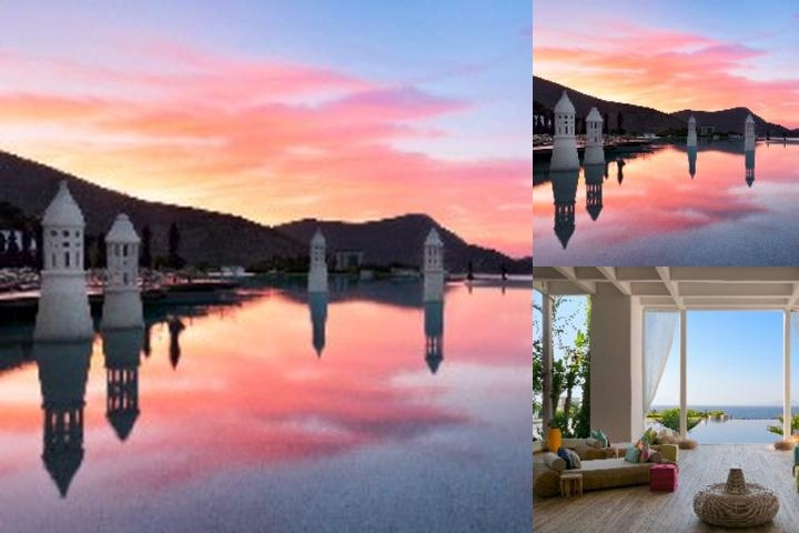 Kempinki Hotel Barbaros Bay Bodrum photo collage