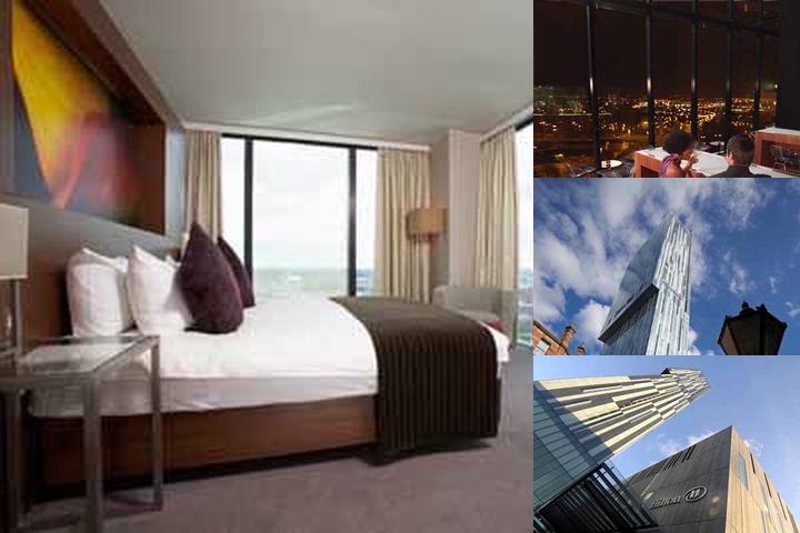 Hilton Manchester Deansgate photo collage