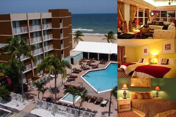 Florida Beach Hotels photo collage