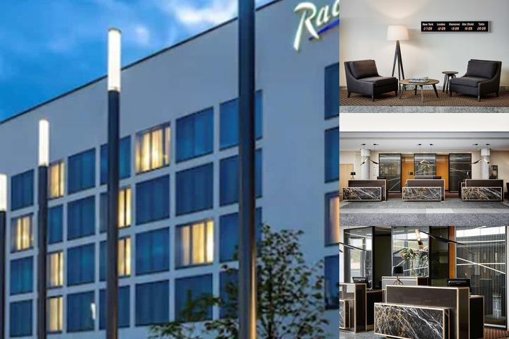Radisson Blu Hotel Hannover photo collage